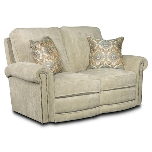 Lane Jasmine  Traditional Power Reclining Loveseat