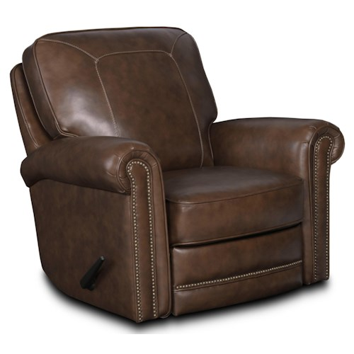 Lane Jasmine  Traditional Manual Swivel Rocker Recliner