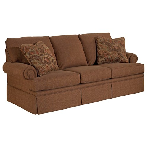 Broyhill Furniture Jenna Queen IREST Sleeper Sofa