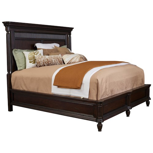 Broyhill Furniture Jessa Traditional Queen Panel Bed