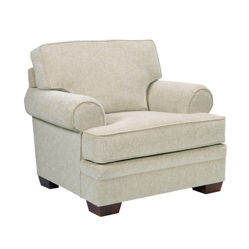 Broyhill Furniture Landon Transitional Upholstered Chair
