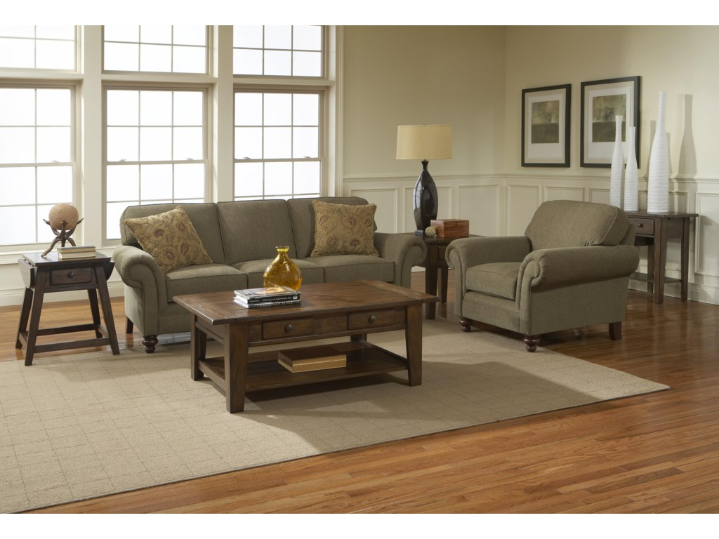 Shown with Coordinating Chair. Sofa Shown May Not Represent Exact Features Indicated.