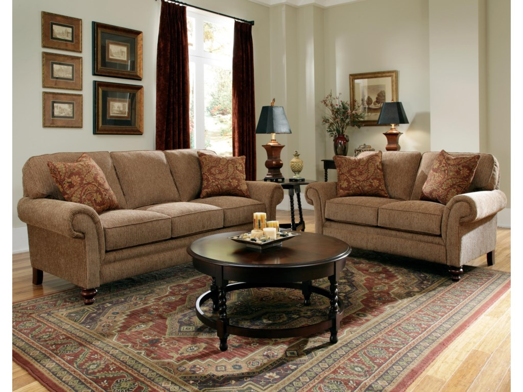 Shown with Coordinating Collection Loveseat. Sofa Shown May Not Represent Exact Features Indicated.