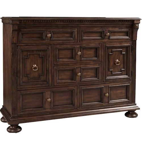Broyhill Furniture Lyla Door Chesser with 6 Drawers
