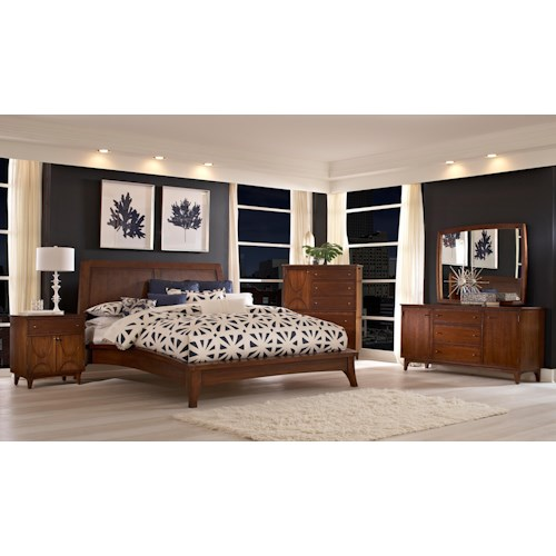 Broyhill Furniture Mardella Queen Bedroom Dresser with Door Group