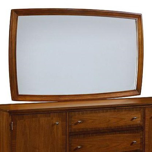 Broyhill Furniture Mardella Landscape Dresser Mirror with Beveled Glass