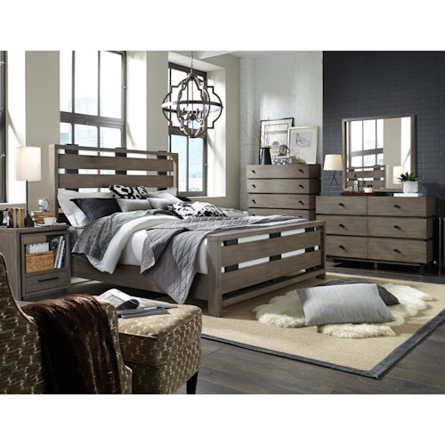 Broyhill Furniture Moreland Ave King Bedroom Group