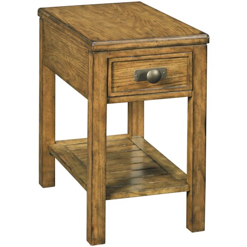 Broyhill Furniture New Vintage Chairside End Table with Drawer