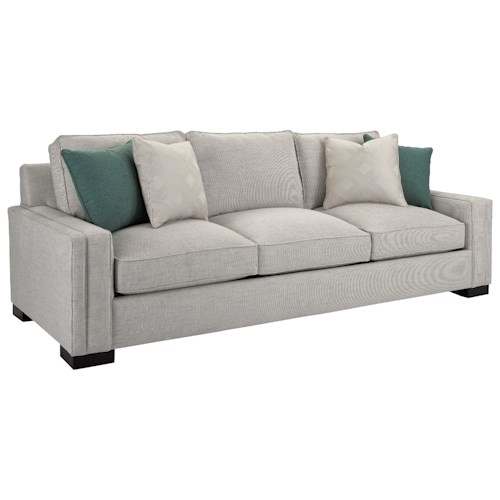 Broyhill Furniture Rocco Sofa with Sleek Track Arms