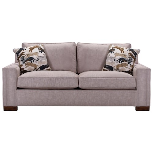 Broyhill Furniture Rocco Queen Sofa Sleeper with Track Arms
