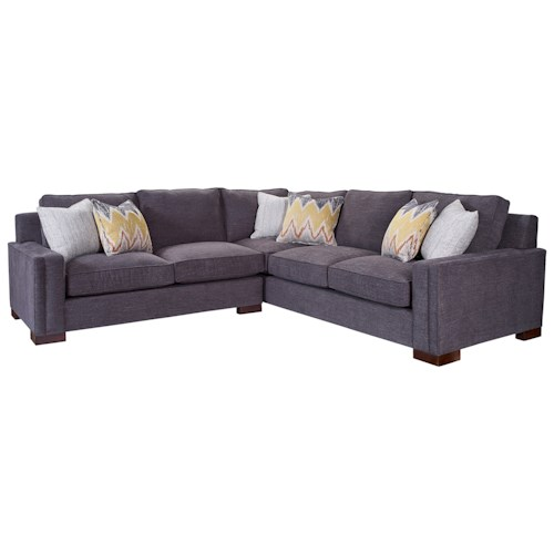 Broyhill Furniture Rocco 2 Piece Sectional with Corner Sofa