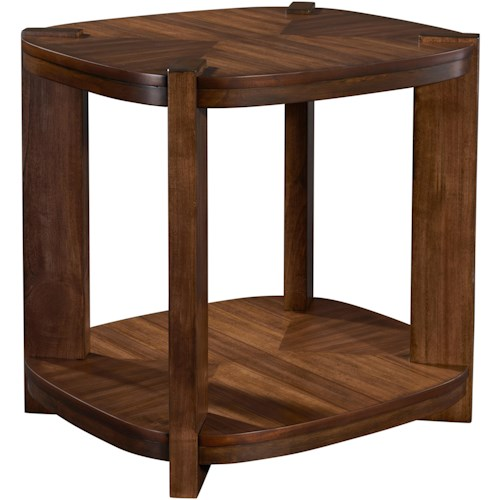 Broyhill Furniture Ryleigh Scround End Table with Shelf