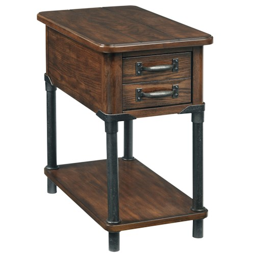 Broyhill Furniture Saluda Accent Table with Shelf