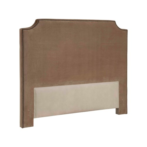 Broyhill Furniture Upholstered Headboards Andrina King Size Fabric Upholstered Headboard
