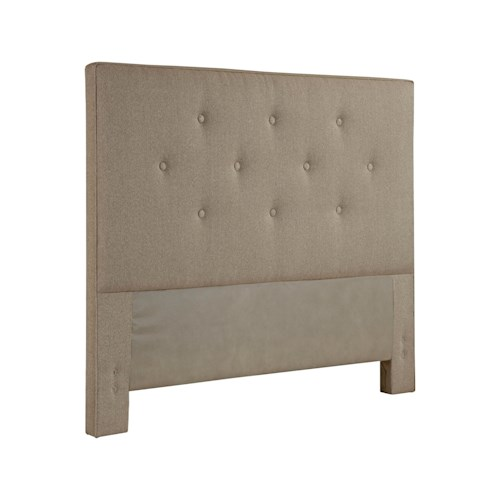 Broyhill Furniture Upholstered Headboards Sterlyn Twin Size Tufted Fabric Headboard
