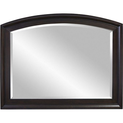 Broyhill Furniture Vibe Mirror with Wood Frame