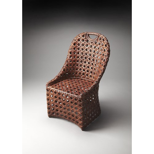 Butler Specialty Company Accent Seating Rattan Accent Chair