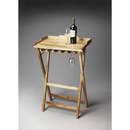 Butler Specialty Company Artifacts Folding Wine Rack