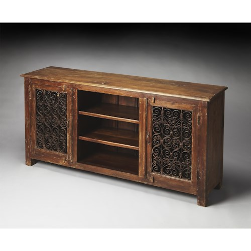 Butler Specialty Company Artifacts Console Cabinet