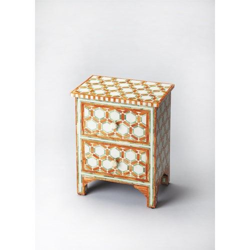 Butler Specialty Company Bone Inlay Vivienne Bone Inlay Accent Chest