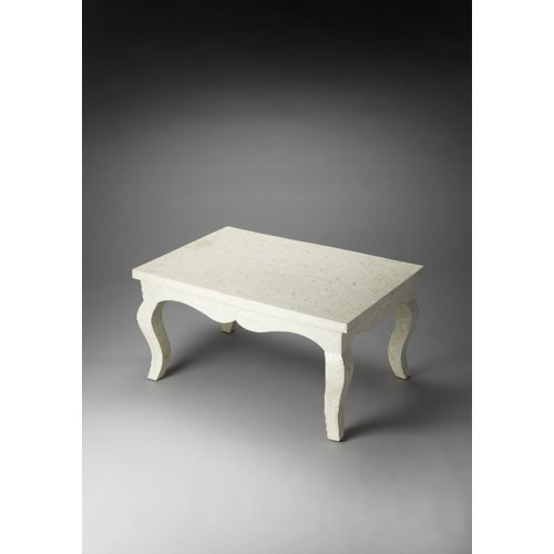 Butler Specialty Company Bone Inlay Bone Inlay Cocktail Table