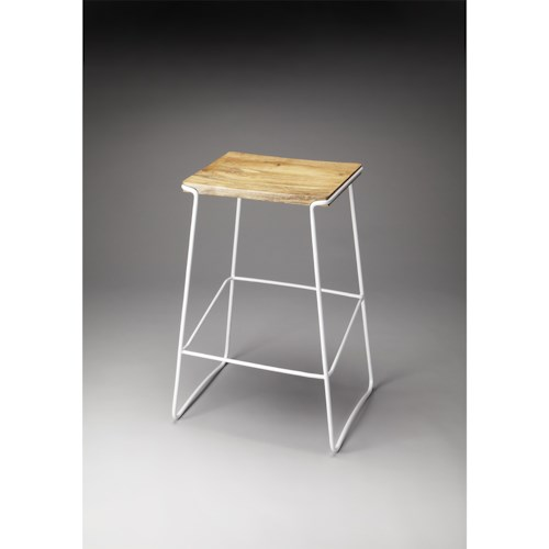 Butler Specialty Company Butler Loft Parrish Wood & Metal Bar Stool