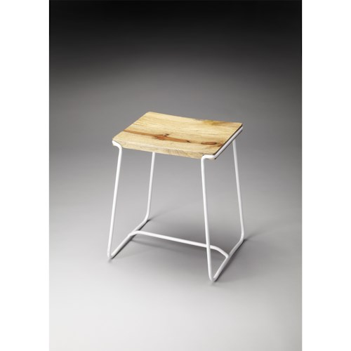 Butler Specialty Company Butler Loft Parrish Wood & Metal Stool
