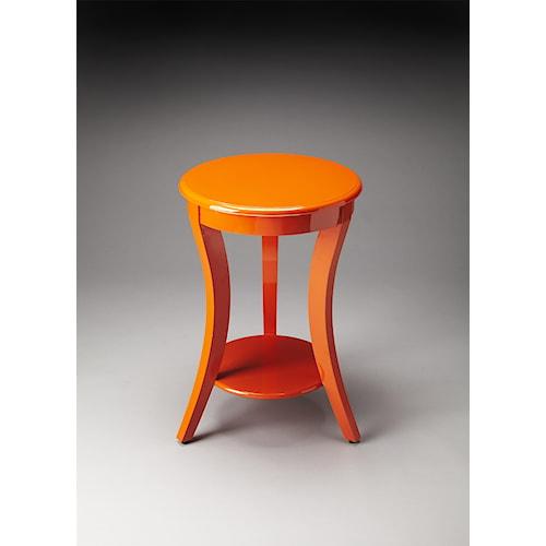 Butler Specialty Company Butler Loft Holden Orange Contemporary Accent Table
