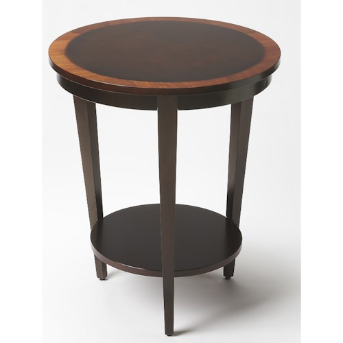 Butler Specialty Company Butler Loft Serenade Cherry Nouveau Round Accent Table