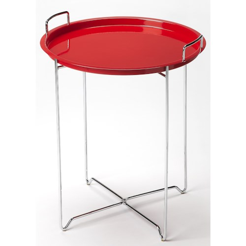 Butler Specialty Company Butler Loft Midtown Red Tray Table
