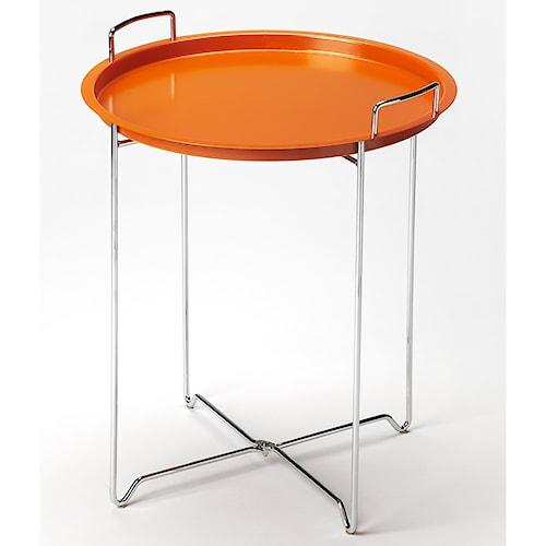 Butler Specialty Company Butler Loft Midtown Orange Tray Table