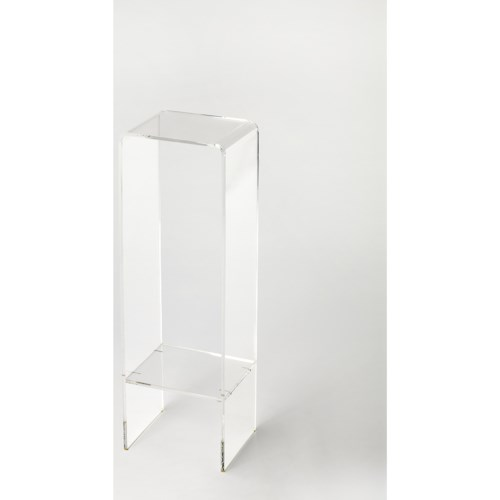 Butler Specialty Company Butler Loft Crystal Clear Acrylic Plant Stand