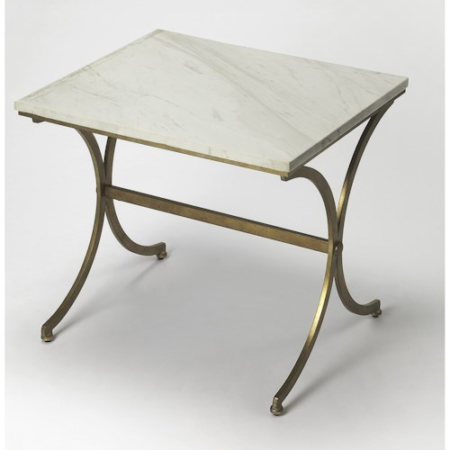 Butler Specialty Company Butler Loft Pamina Travertine Accent Table