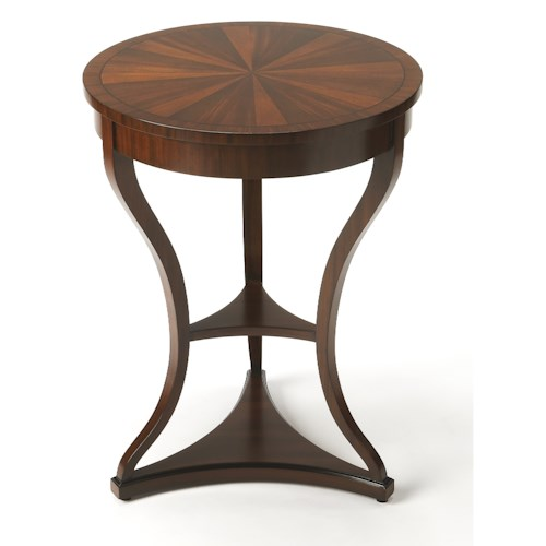 Butler Specialty Company Connoisseur's Salma Mahogany End Table