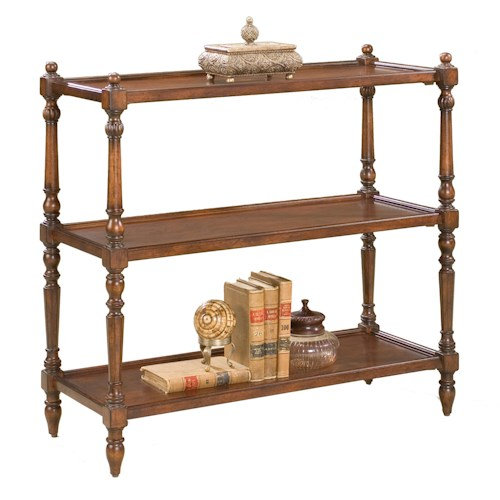 Butler Specialty Company Consoles And Chests 3-Tier Console Table