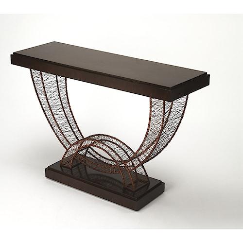 Butler Specialty Company Cosmopolitan Christiane Modern Console Table
