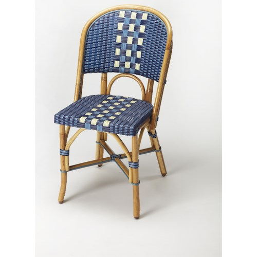 Butler Specialty Company Designers Edge Lotta Rattan Side Chair