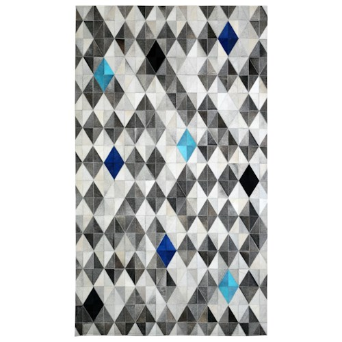 Butler Specialty Company Hair On Hide Rug Delamar Hair-On-Hide 8' X 10' Area Rug