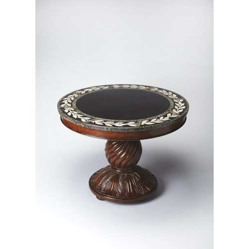 Butler Specialty Company Heritage Fossil Stone Foyer Table