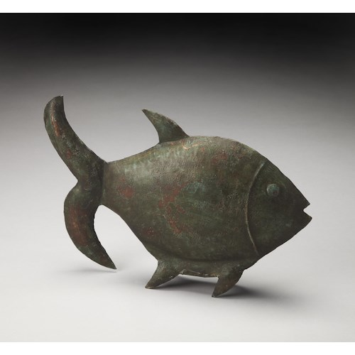 Butler Specialty Company Hors D'oeuvres Reef Dwelling Iron Fish Figurine