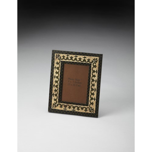 Butler Specialty Company Hors D'oeuvres Hand Painted 4x6 Picture Frame