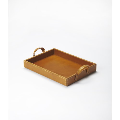 Butler Specialty Company Hors D'oeuvres Leather Serving Tray