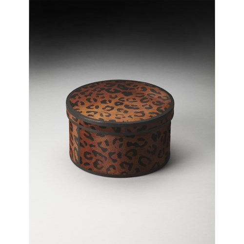 Butler Specialty Company Hors D'oeuvres Nikita Leather Storage Box