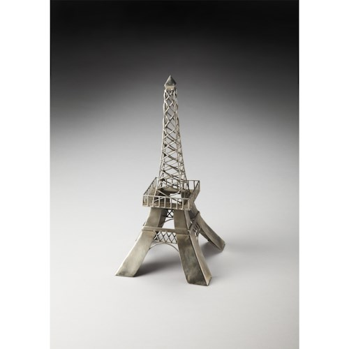 Butler Specialty Company Hors D'oeuvres Metal Eiffel Tower Figurine