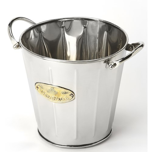 Butler Specialty Company Hors D'oeuvres Santa Rosa Stainless Steel Wine Bucket