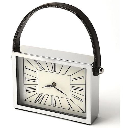 Butler Specialty Company Hors D'oeuvres Gustav Rectangular Desk Clock