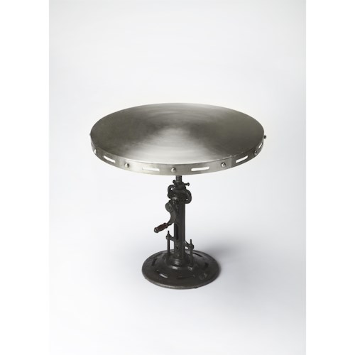 Butler Specialty Company Industrial Chic Industrial Chic Crank Accent Table