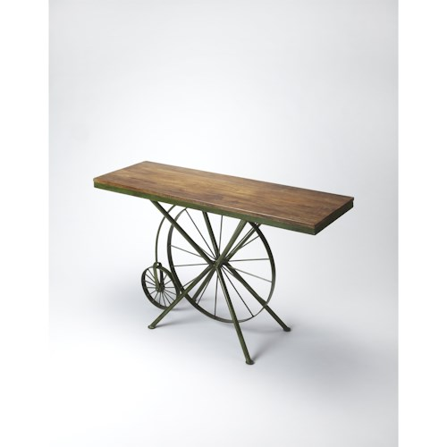 Butler Specialty Company Industrial Chic Industrial Chic Console Table
