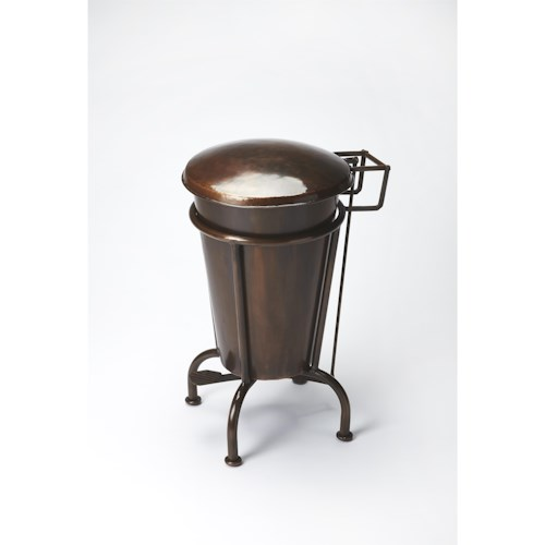 Butler Specialty Company Industrial Chic Copper Dust Bin