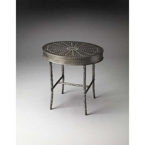 Butler Specialty Company Industrial Chic Bannon Industrial Chic Accent Table